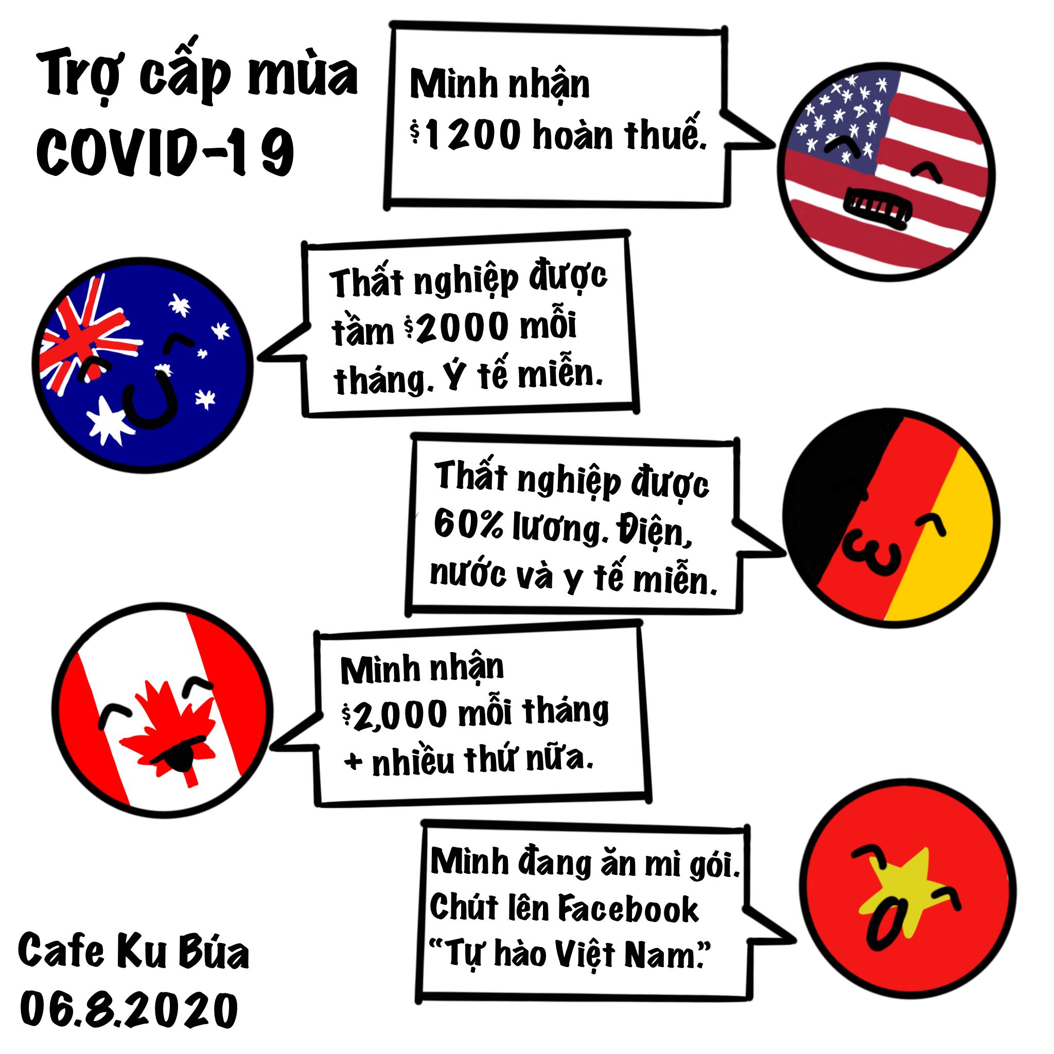 CHUYỆN TRỢ CẤP MÙA COVID-19