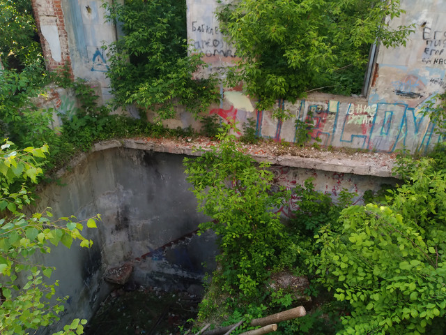 Калужская заброшенная водонасосная станция
