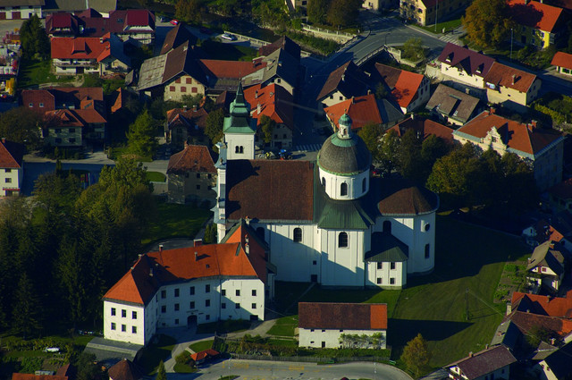 Katedrala gornji grad savinjska in ale ka dolina slovenija