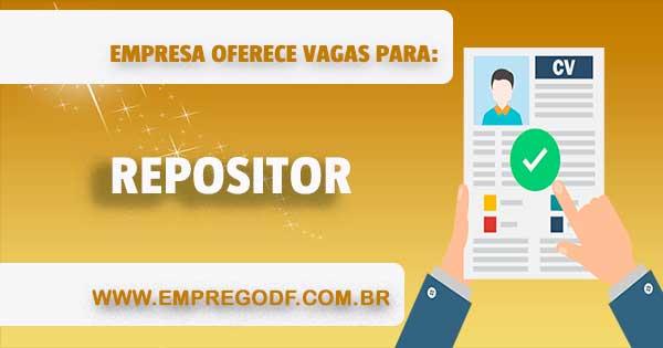 REPOSITOR (MERCEARIA SALGADA, FLV, LÍQUIDA E PERECÍVEIS)