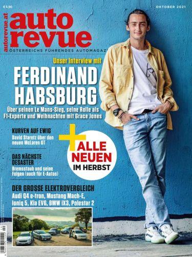Cover: Auto Revue Magazin No 10 Oktober 2021