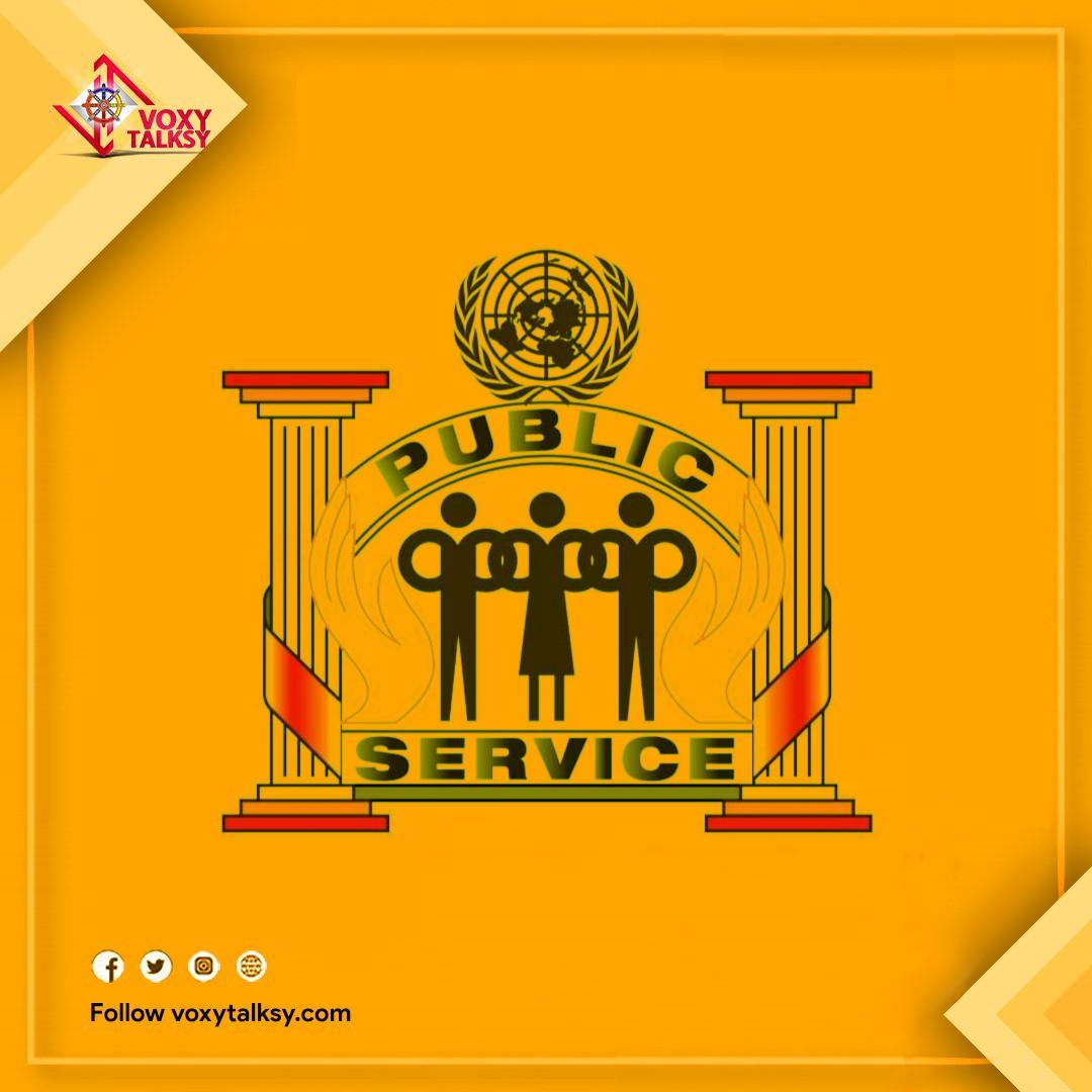 Public Service day 2020, public servants, VoxyTalksy
