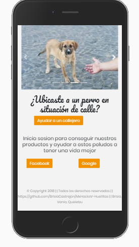Huellitas|Pata amiga