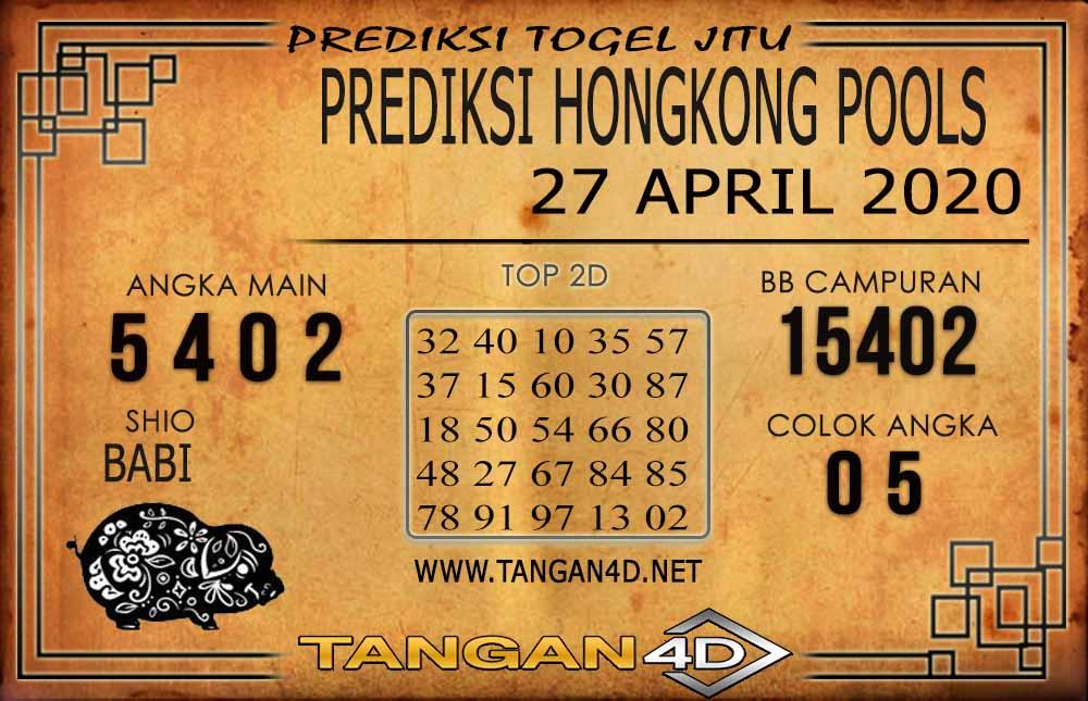 Prediksi Togel HONGKONG TANGAN4D 27 APRIL 2020