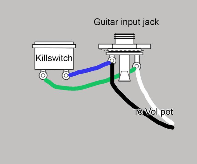 Reverse Killswitch | GuitarNutz 2 | Guitar Wiring Diagram Kill Switch |  | GuitarNutz 2 - ProBoards