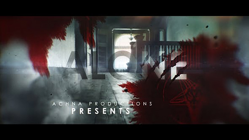 Dark And Bloody Horror Trailer 24883495 - Project for After Effects (Videohive)