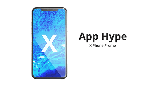 Phone X App Hype 21188172 - Project for After Effects (Videohive)
