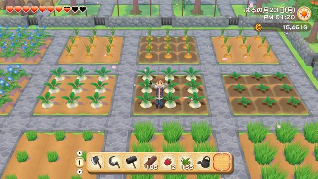 「牧場物語」系列首次在Nintendo Switch™平台推出全新製作的作品! 『牧場物語 橄欖鎮與希望的大地』 決定於2021年2月25日(四)發售! 014