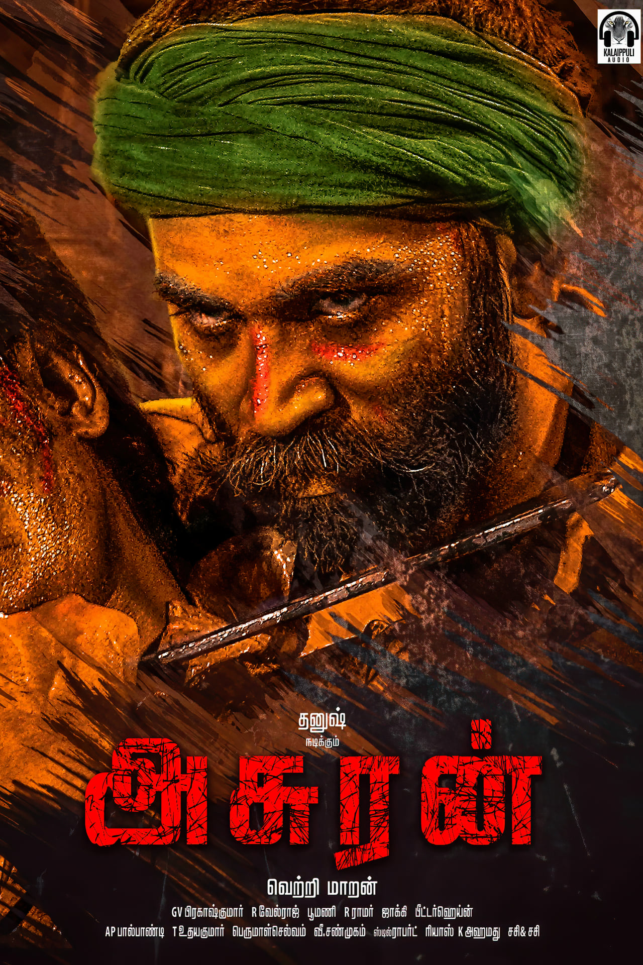 Asuran (2021) Hindi Dubbed Movie HDRip 720p AAC