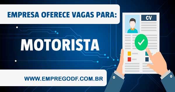 EMPREGO PARA MOTORISTA CATEGORIA D
