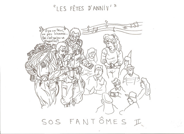 Ghostbusters France Consulter Le Sujet Mes Dessins S O S Fantomes