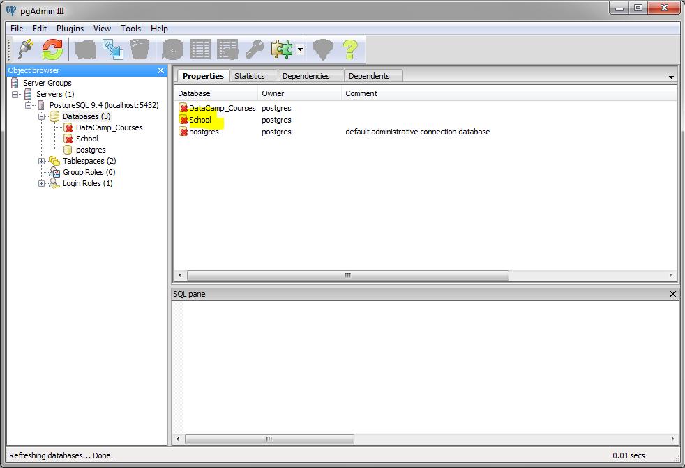 Managing Databases in PostgreSQL (article) - DataCamp