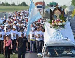 En honor a Nuestra Señora de Schoenstatt: Este sábado, la peregrinación desde Hasenkamp será virtual y la misa presencial