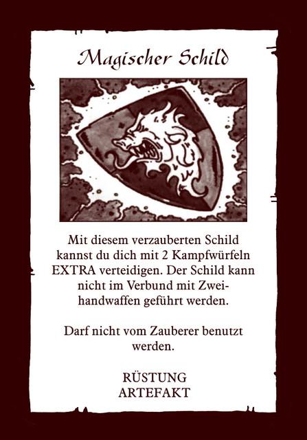 Artefakt-mag-Schild