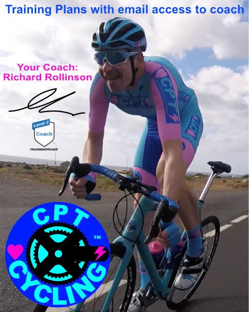 Training Plans by Richard Rollinson of CPT Cycling