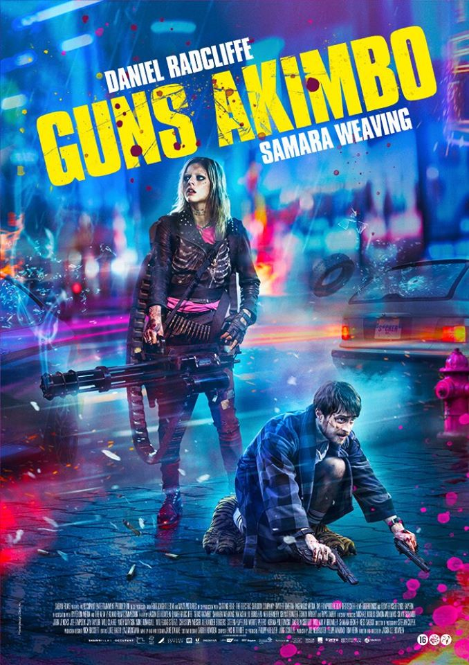 Guns Akimbo (2019) Hindi Dubbed Action Movie 720p HDRip AAC