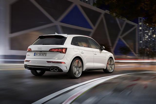 Sportivité, puissance et efficience : Audi présente la nouvelle génération de la SQ5 TDI A208362-medium