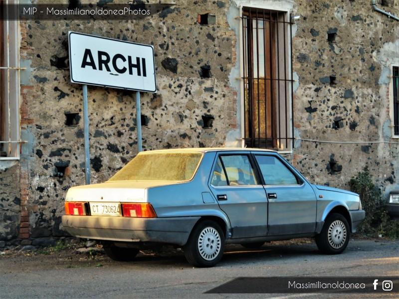 avvistamenti auto storiche - Pagina 19 Fiat-Regata-70-S-1-3-65cv-86-CT730624-82-759-28-7-2017