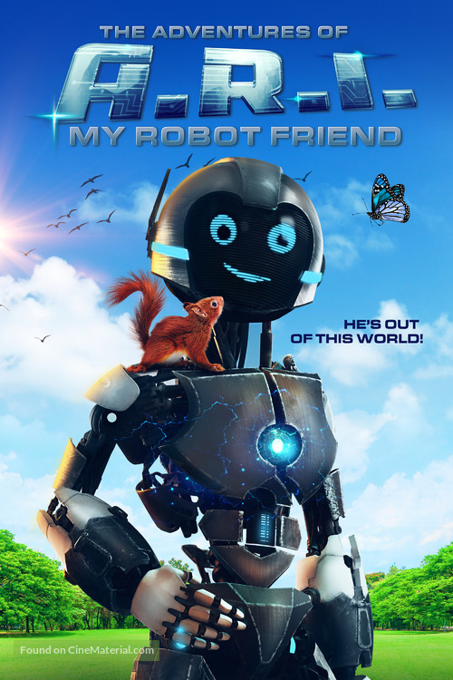 The Adventure of A.R.I. My Robot Friend (2020) English 480p HDRip 300MB ESubs Download