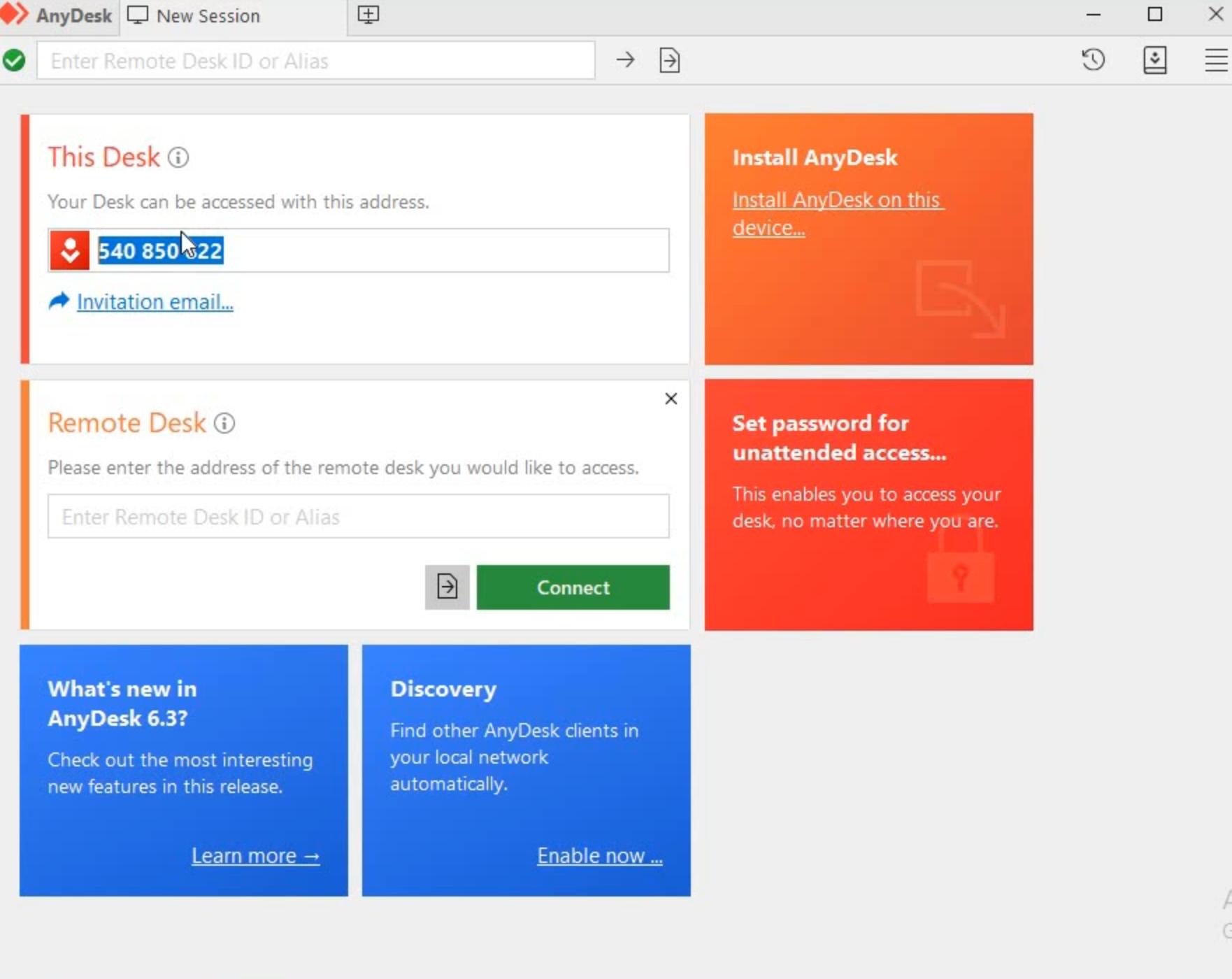 Download now remote desktop tool on windows.