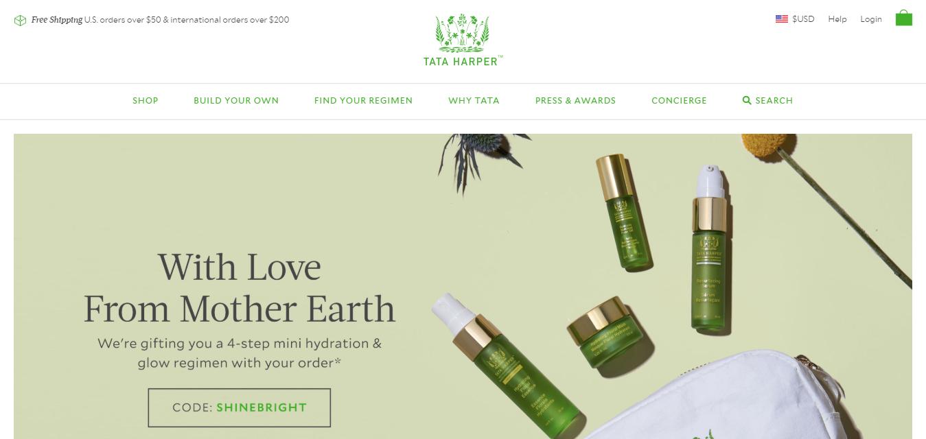 The Tata Harper Skincare travel product recommended by Natasha Kersey on Pretty Progressive.