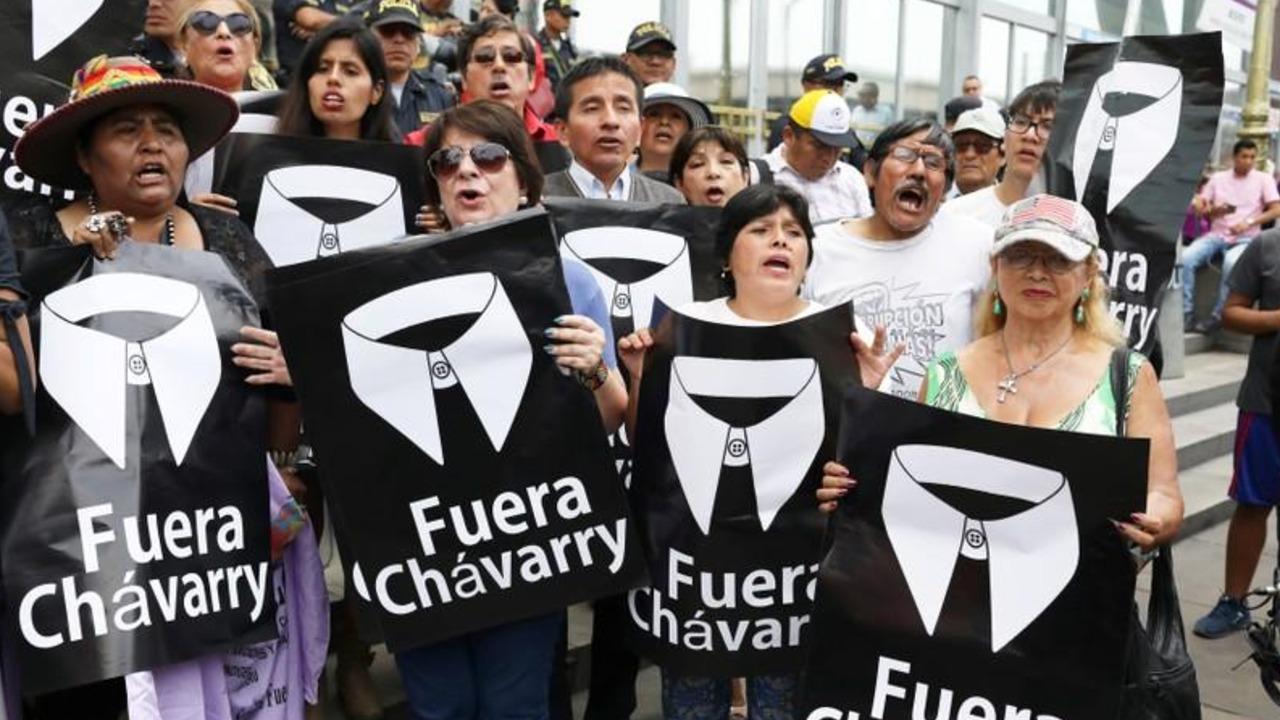 Nueva fiscal general de Perú declara en emergencia a Ministerio Público