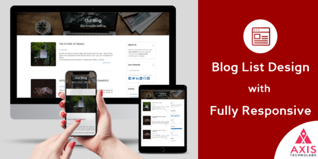 Odoo website blog theme