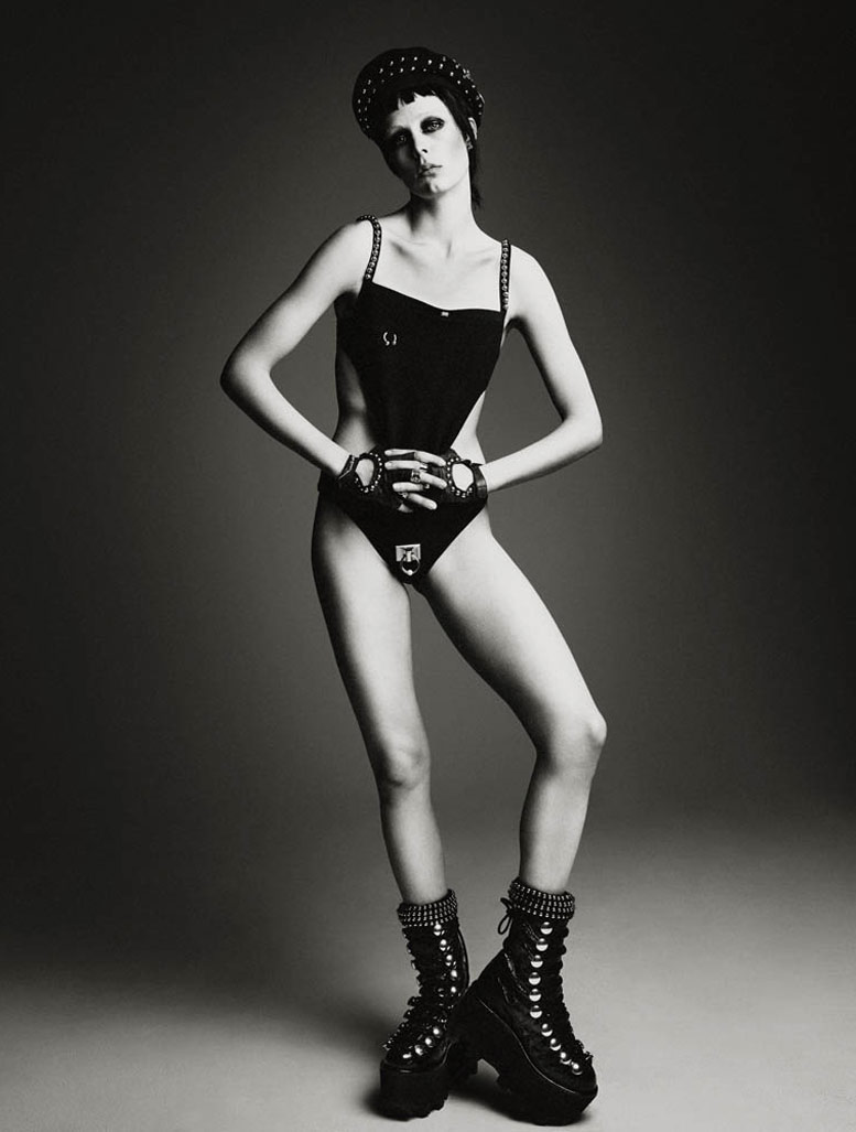 Мятежница Эди Кэмпбелл / Edie Campbell - Rebel by Patrick Demarchelier in Interview Magazine may 2015