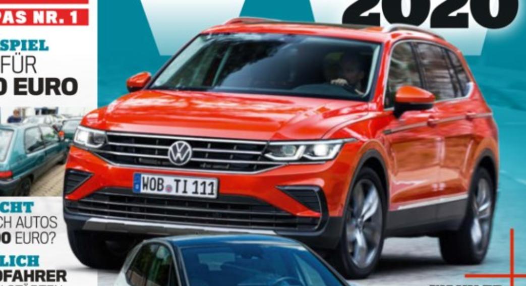 Volkswagen Tiguan II Facelift (2020) 53