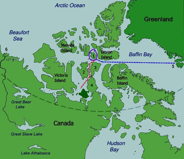 the most dangerous northwest passage Baffin404