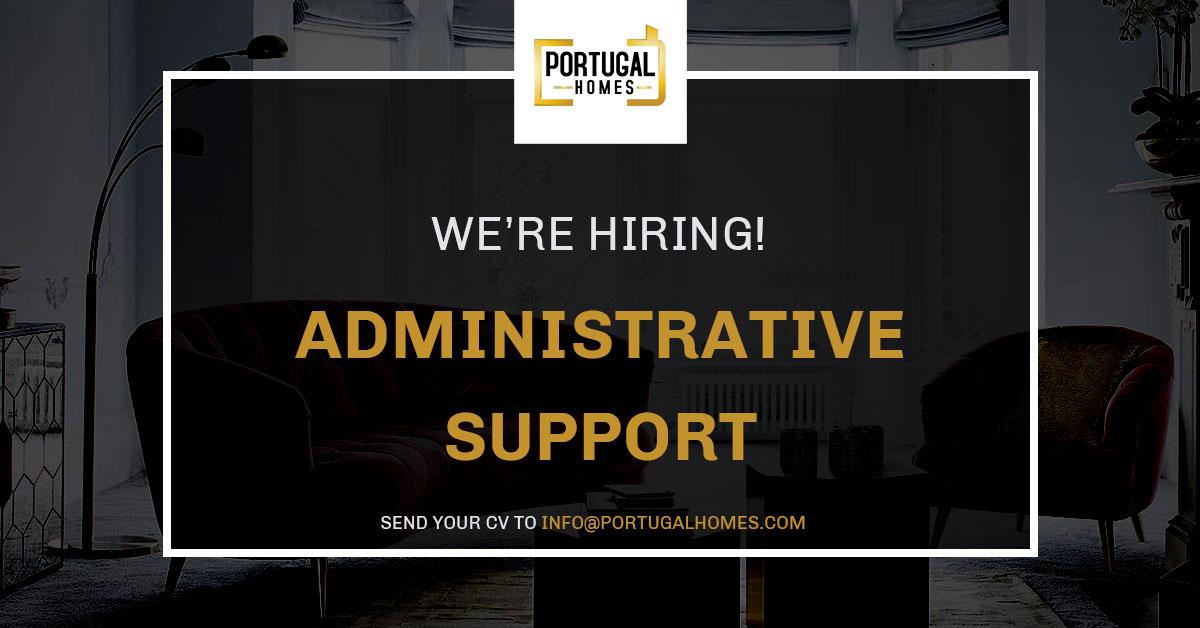 Administrative support job vacancy