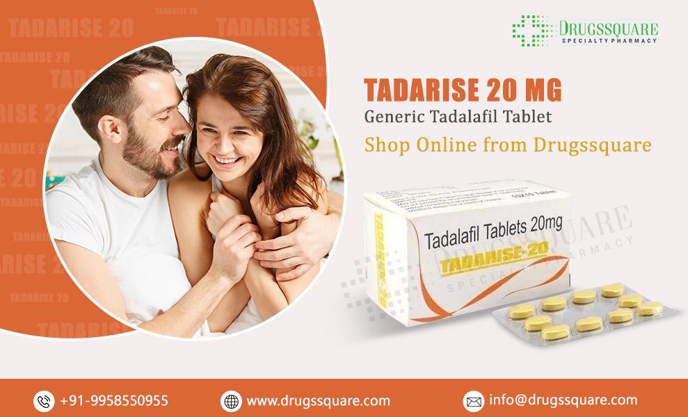 Buy Tadarise 20 mg Online - Тадалафила Таблетка по самой низкой цене из Индии