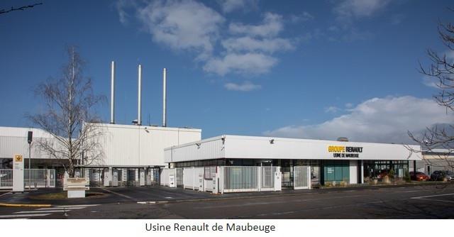 Renault Group signe un accord social et crée Renault ElectriCity: le pôle industriel électrique du nord de la France Usine-Renault-de-Maubeuge
