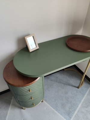 Green Dressing Table
