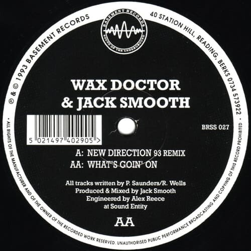 Download Wax Doctor & Jack Smooth - New Direction Remix / What's Goin' On mp3
