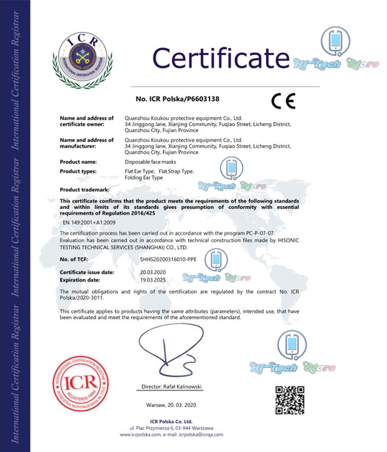 certificate-chirurgical-mask