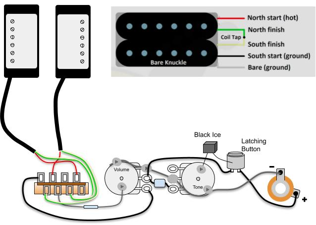 Creative Wiring Question - 5 way blade switch knowledge required | The Gear  Page | Two Sd Wiring Diagram |  | The Gear Page