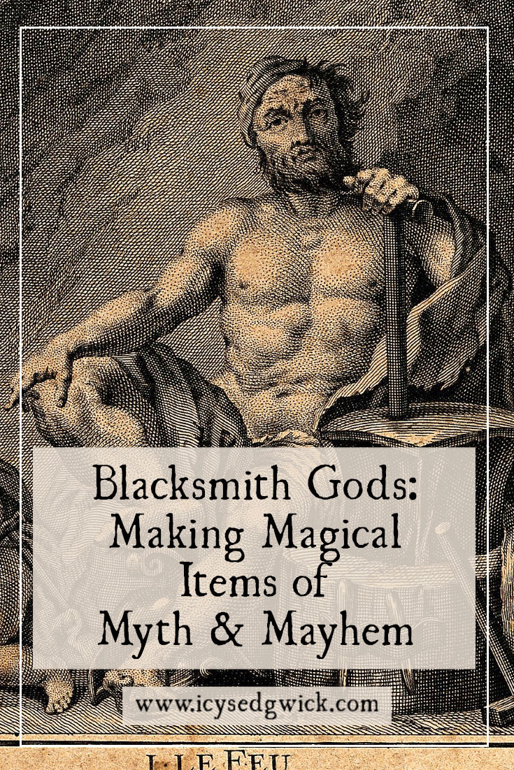 Many cultures have myths involving blacksmith gods, or creatures that forge magical items for the gods. Learn more about them here!