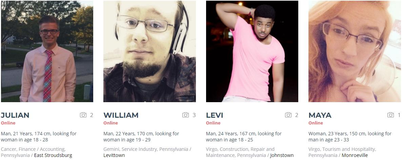 pennsylvania dating websites