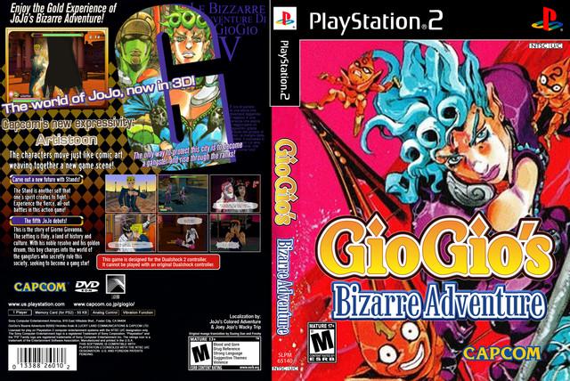GioGio's Bizarre Adventure: Golden Wind PS2 Game ISO English