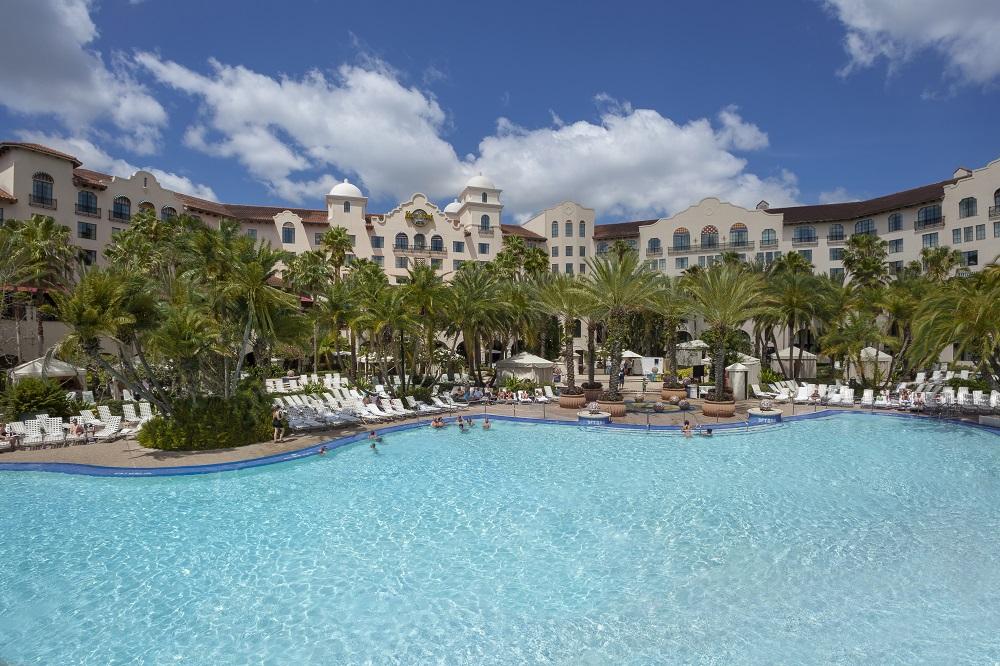 Universal Orlando Hard Rock Hotel pool underwater music
