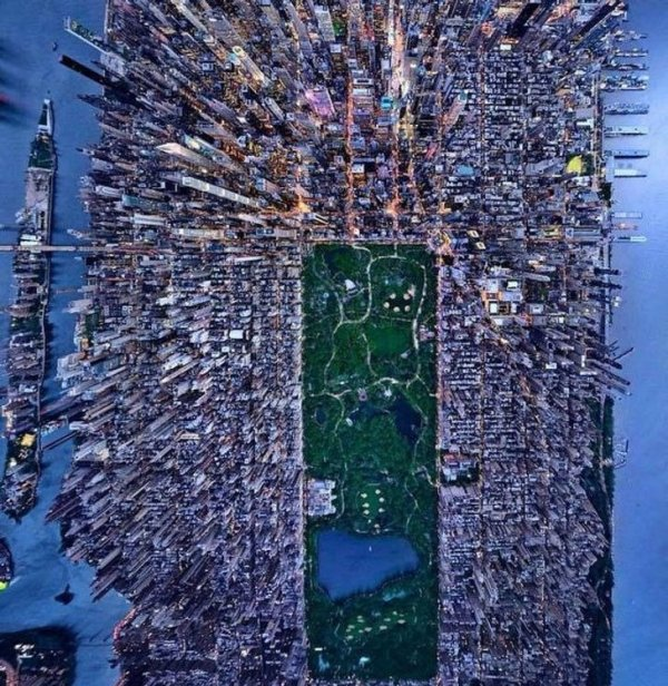 Полет над Нью-Йорком