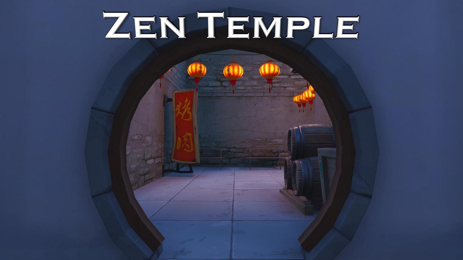 Zen Temple Icon