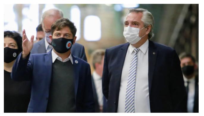 """Kicillof anunció que la Provincia """"adhiere y acompaña"""" las medidas anunciadas por Fernández"""
