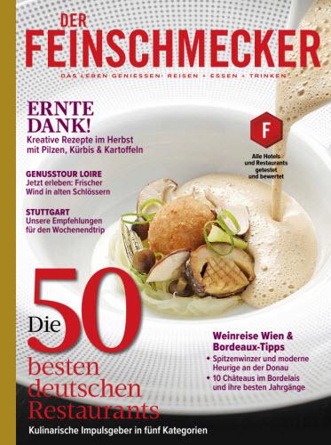 Cover: Der Feinschmecker Magazin No 09 2021