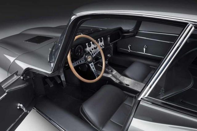 """Jaguar Classic Dévoile La Type """"60 Collection"""" : Homage Au 60e Anniversaire De La Sportive Légendaire 11-E-TYPE-FHC-interior-01"""