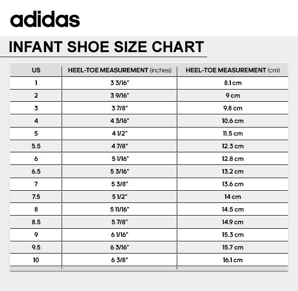 Adidas Shoes Chart