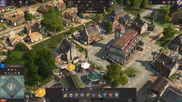 Anno 1800 - как разблокировать больше зданий и социальных классов?
