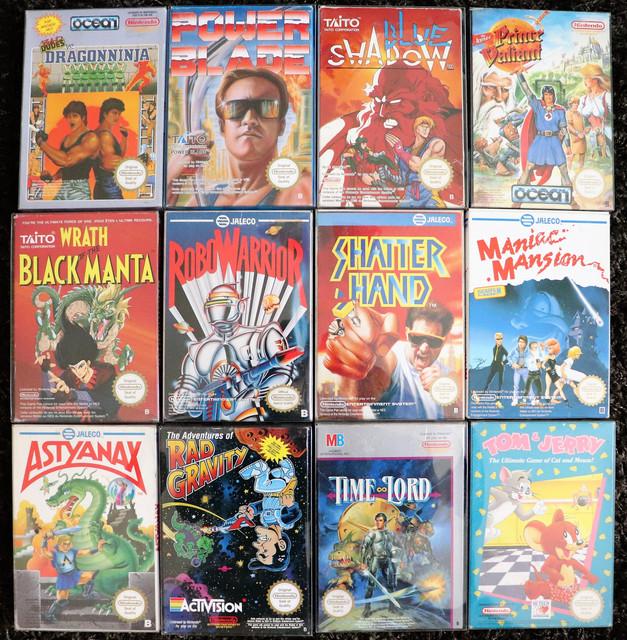 Vente Collection Nintendo NES PAL B et FRA, du très lourd ! IMG-0540-2