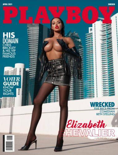 Cover: Playboy Sweden - April 2021